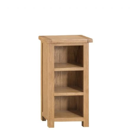 Oslo Oak Narrow Bookcase